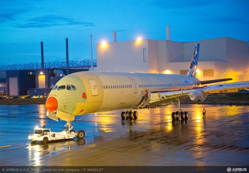 Prvi A350 XWB 'MSN-001' spreman za prvi let