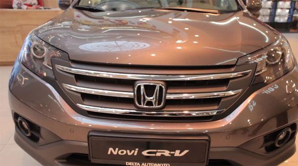 Predstavljena četvrta generacija Honde CR-V