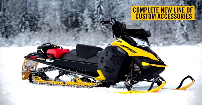 Ski-Doo 2013 dodaci i oprema za motorne sanke
