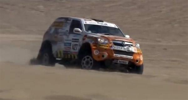 Srpski duo odustao od Dakar 2013 relija posle druge etape