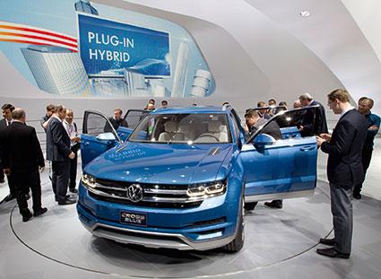 Volkswagen CrossBlue koncept