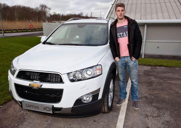 Chevrolet Captiva postala popularna među zvezdama Mančester Junajteda