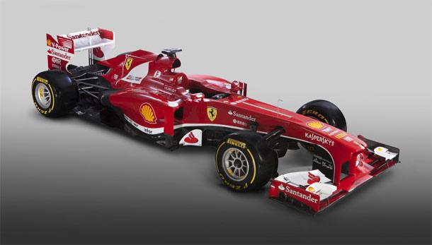 Scuderia Ferrari F138 je stigao!