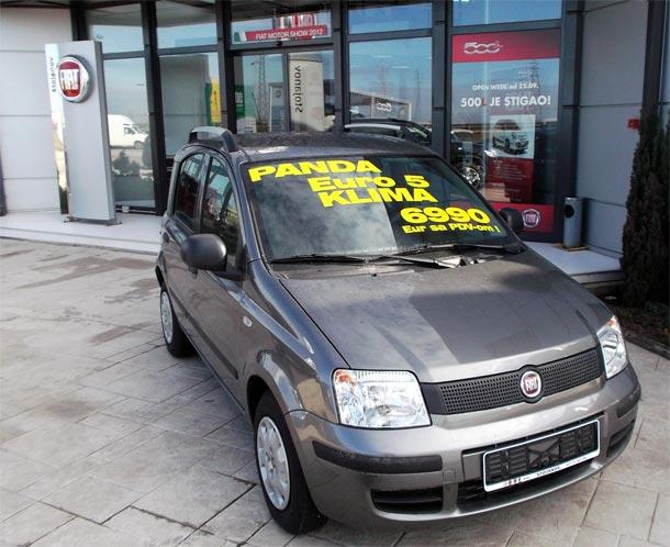 Fiat Panda sa lagera po akcijskoj ceni od 6.990 eur sa PDV-om
