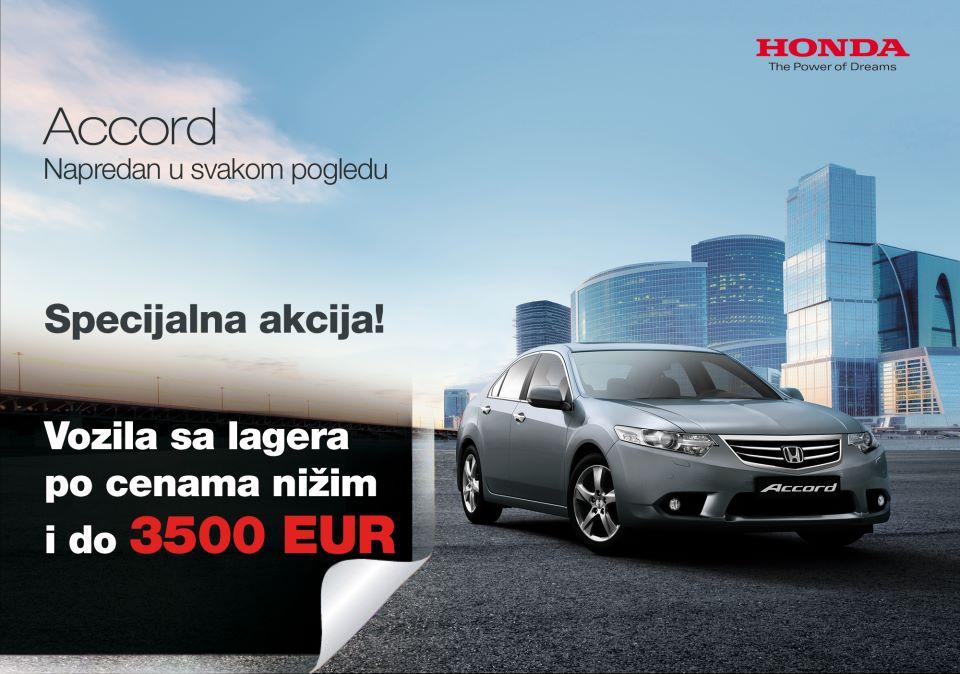 Honda Srbija nova prodajna akcija