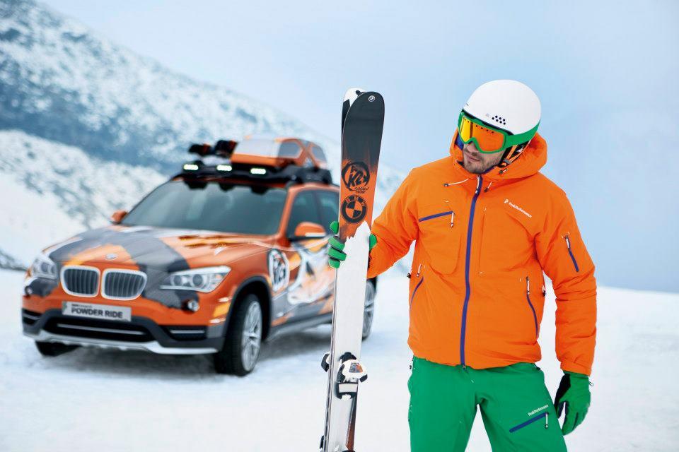 K2 i BMW dizajnirali BMW X1 Edition Powder Ride skije