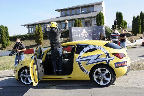 Opel VIP Challenge - Željko Joksimović najbrži VIP vozač