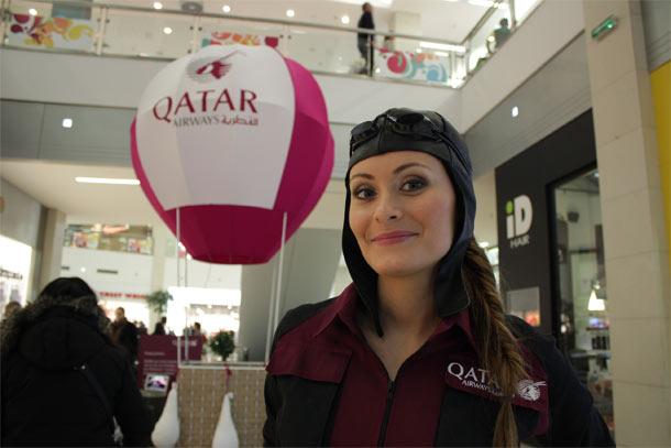 """Qatar Airways poziva na """"3D PUTOVANJE"""" u Beogradu"""
