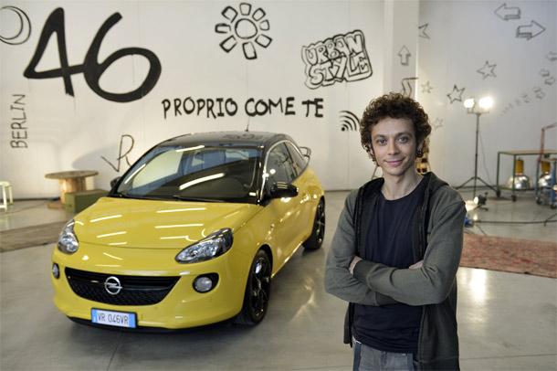 Valentino Rossi novi Opelov brend ambasador za ADAM-a