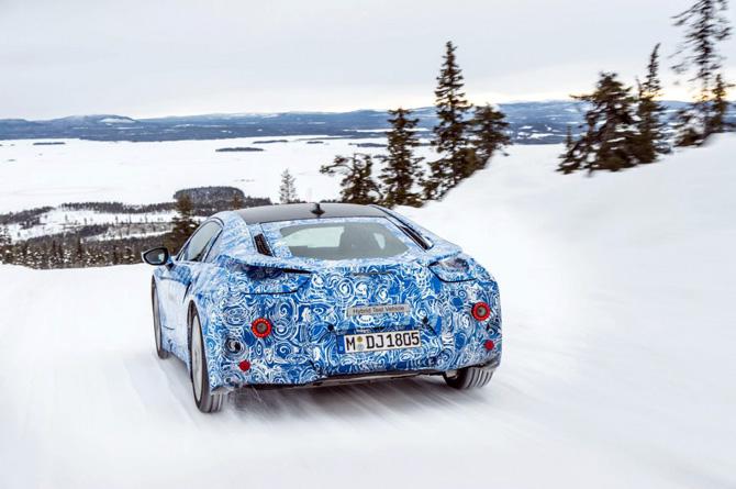 BMW i8 Concept na zimskom testiranju