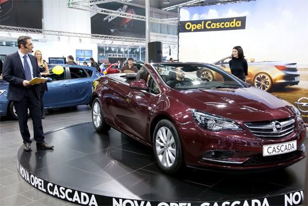 Nova Opel Cascada stigla u Srbiju