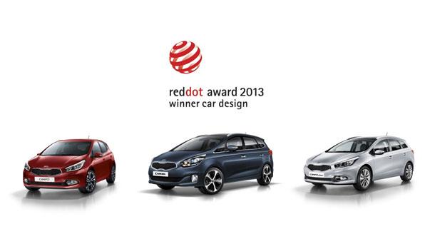 Kia osvojila 4 'red dot' nagrade za dizajn