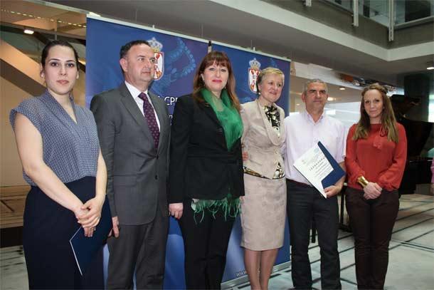 """""""Lasta"""" nagrađena u oblasti bezbednosti i zdravlja na radu za 2012. godinu"""