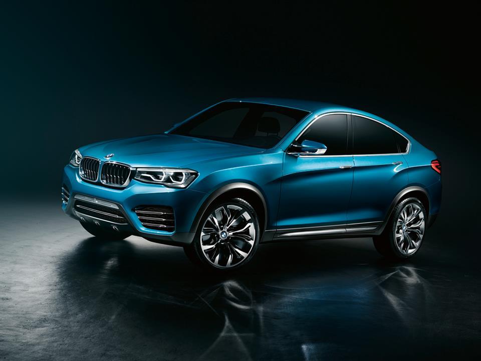 BMW Concept X4 - novo poglavlje u uspešnoj priči o Sport Activity Coupeu
