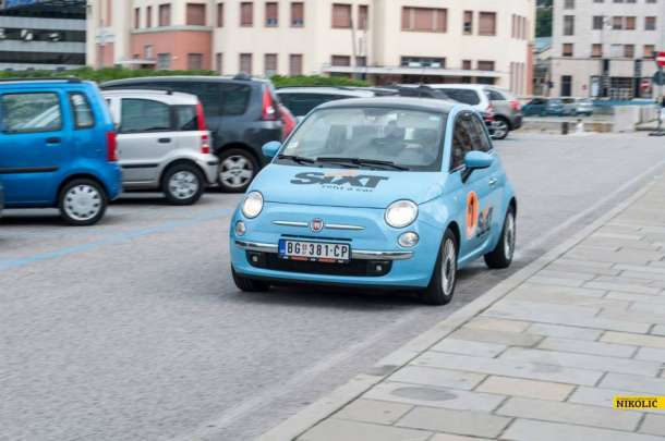 Sa FIAT 500 Color Therapy u Trst