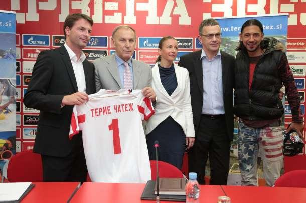 Terme Čatež i FK Crvena Zvezda potpisali ugovor o saradnji