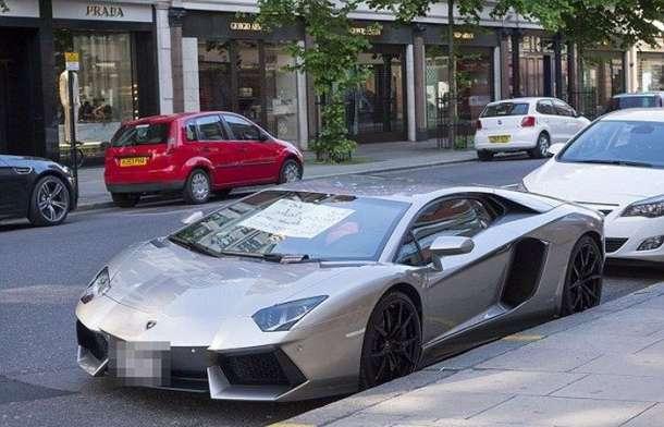 Lamborghini Aventador na uličnoj prodaji