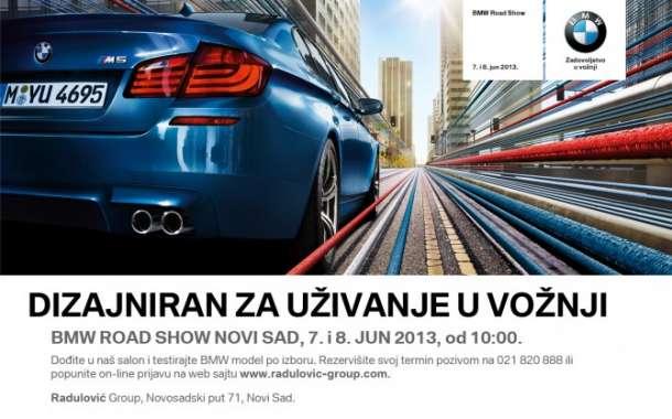 Dođite danas i sutra na BMW Road Show Novi Sad!