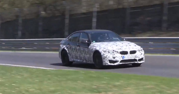 2014 BMW M3 na Nurburgringu