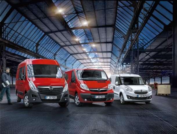 Opseg modela Opel LCV: Vrhunski, raznovrstan i ekonomičan
