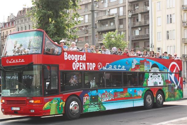 Lastina noćna linija za razgledanje Beograda