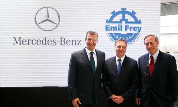 Emil Frey Grupa postaje generalni zastupnik kompanije Daimler AG za Srbiju i Crnu Goru