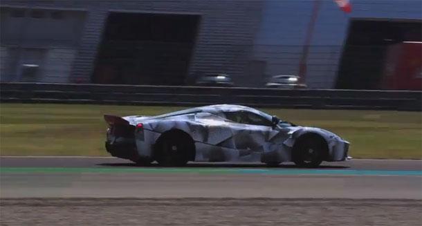 Pogledajte vožnju Fernanda Alonsa u LaFerrari prototipu