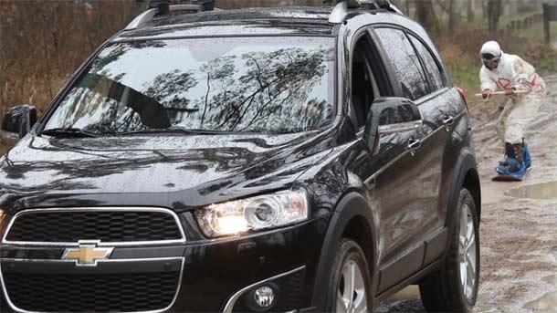 Chevrolet započinje sledeću fazu u kampanji za lansiranje modela Captiva
