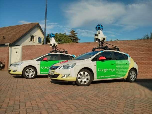 Google Street View automobili - Opel Astra