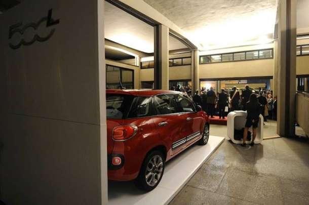 Fiat 500L u Galeriji savremene umetnosti u Torinu