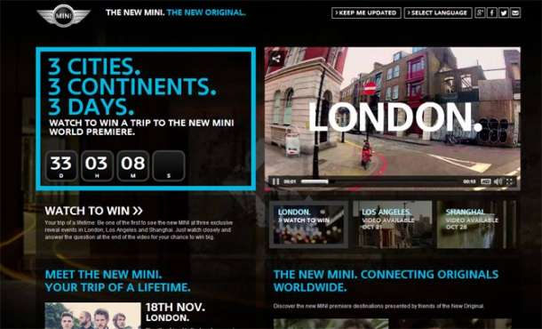 Osvojite put u London na razotkrivanje novog MINI-ja