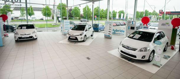 Toyota prvi put od 2009. ima tržišni udeo u Evropi od 5%