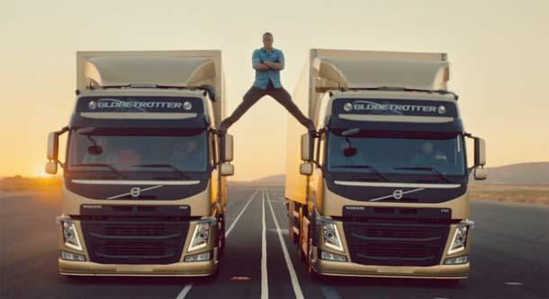 Pogledajte: Jean-Claude Van Damme u neverovatnoj reklami za Volvo kamione