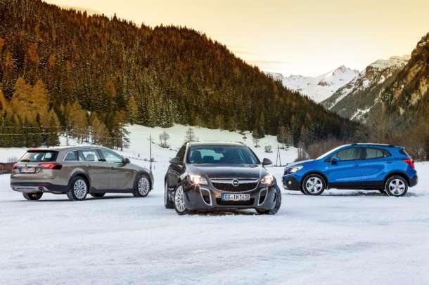 Opel 4x4: Inteligentni sistemi vožnje sa pogonom na sva četitri točka