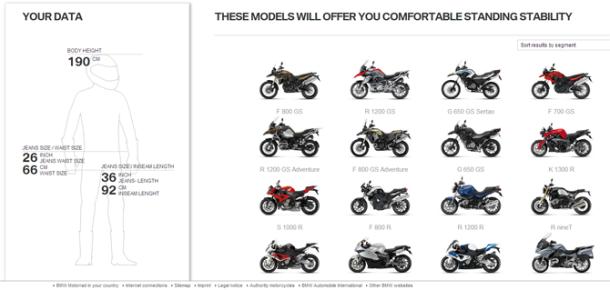 Nova BMW Motorrad online aplikacija