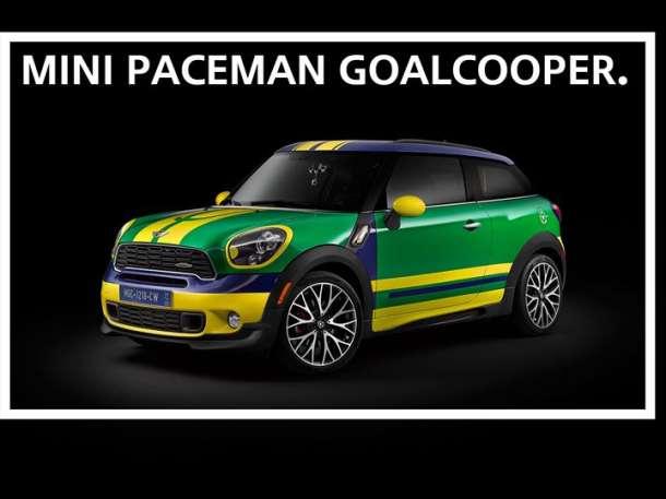 MINI Paceman GoalCooper!