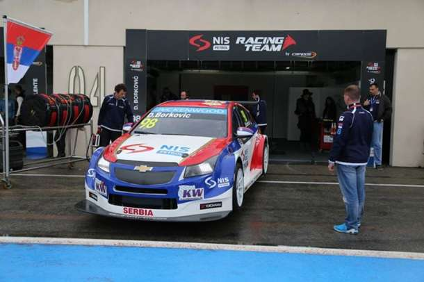 WTCC automobili bez balasta na Hungaroringu
