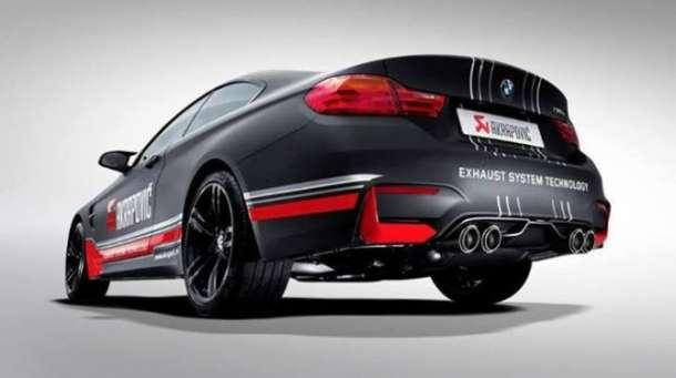Akrapovič izduvni sistem za novi BMW M4