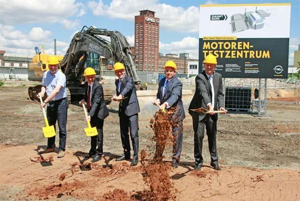Opel gradi Centar za motore budućnosti