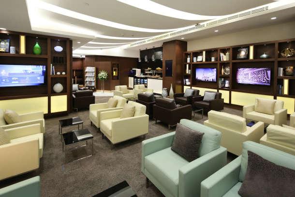 Etihad Airways Arrivals Lounge 1