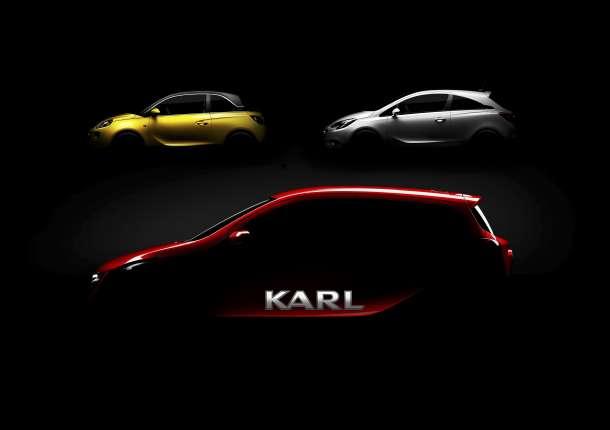 Opel predstavlja model Karl