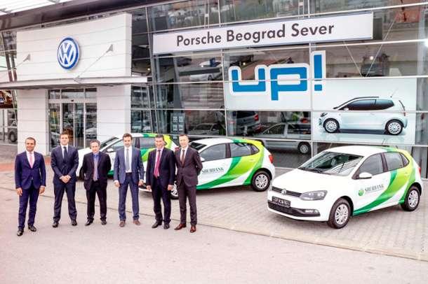 Volkswagen i Audi novi vozni park Sberbanke