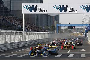 Formula E je naelektrisala Peking