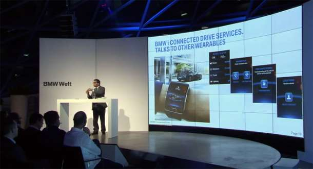 Nosivi pametni uređaji i BMW automobili