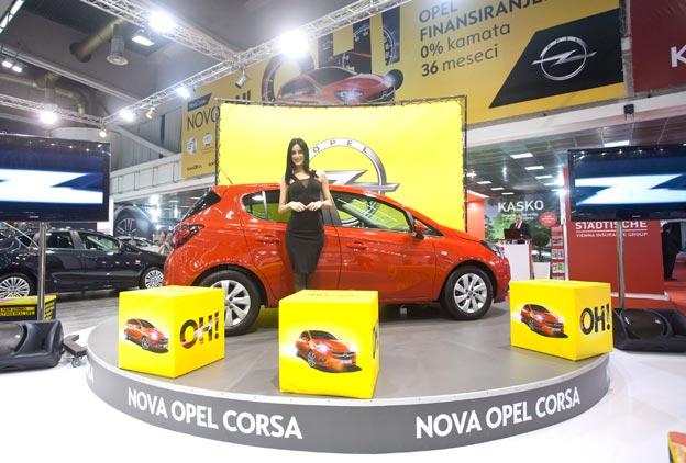 Nova Opel Corsa na beogradskom sajmu