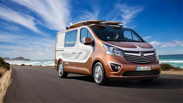 """Opel Vivaro Surf Concept: """"Lajfstajl"""" van za sport i razonodu"""