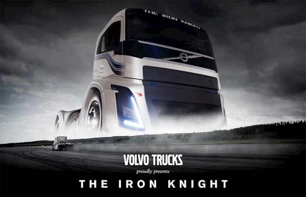 Volvo kamion The Iron Knight