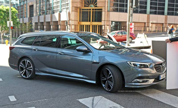 2018 Opel Insignia Sports Tourer.