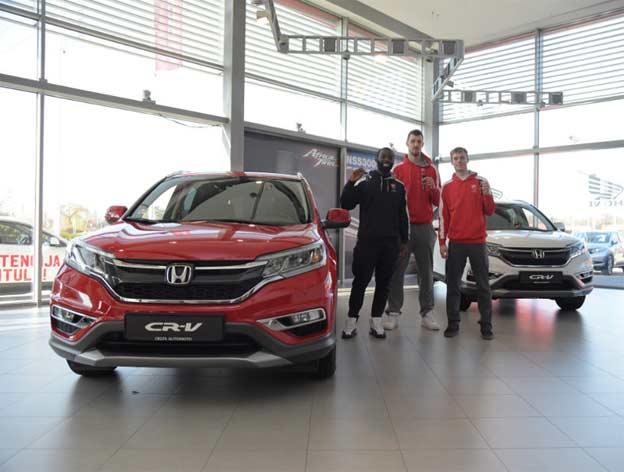 Honda i KK Crvena Zvezda