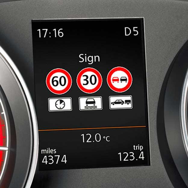 VW prepoznavanje znakova